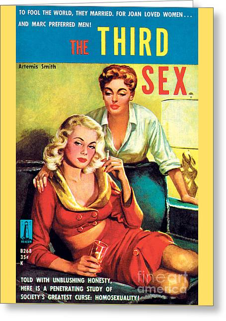 The Third Sex Greeting Card