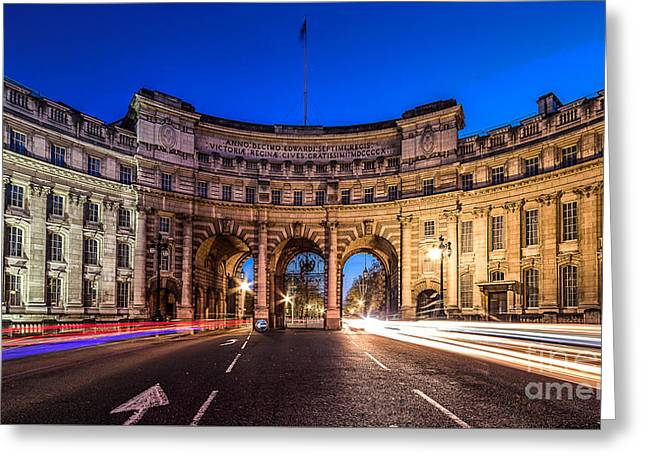 The Three Gates Greeting Card by Giuseppe Torre