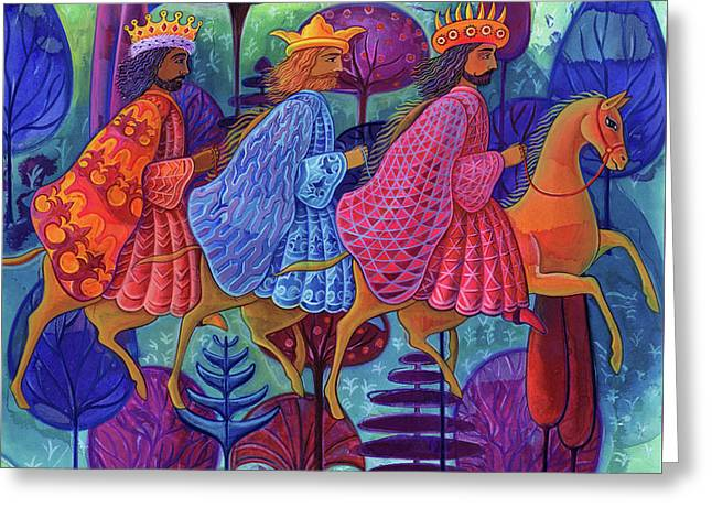 The Three Kings Christmas Greeting Card