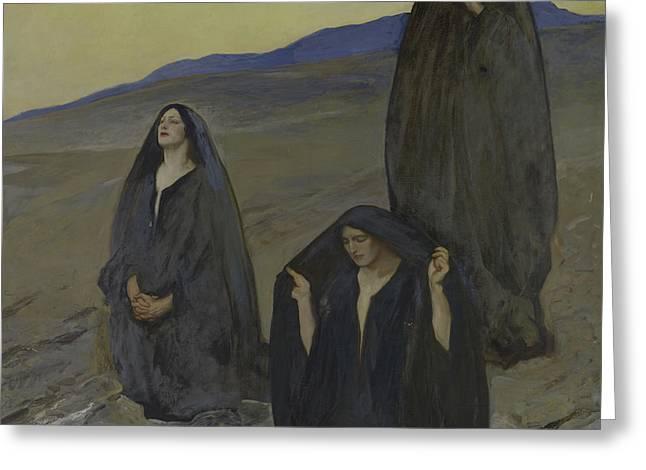 The Three Marys Greeting Card