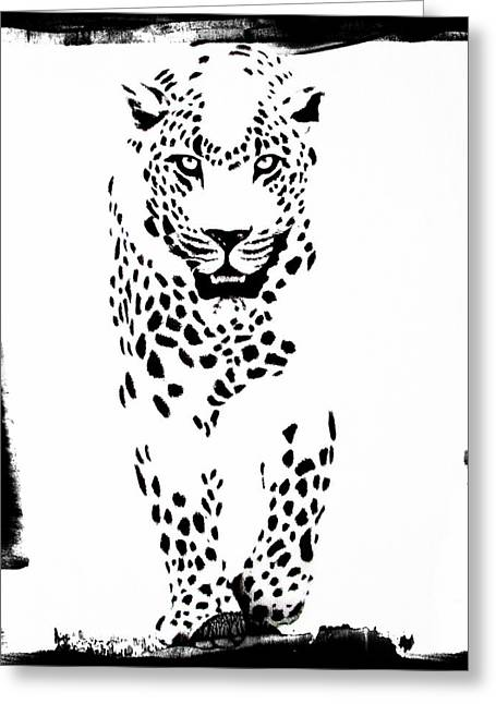 The Three Musketeers - Leopard Greeting Card