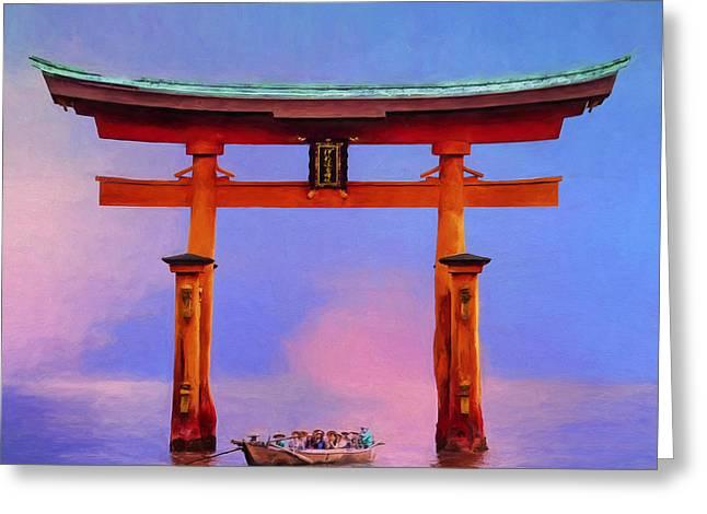 The Torii Gate Greeting Card