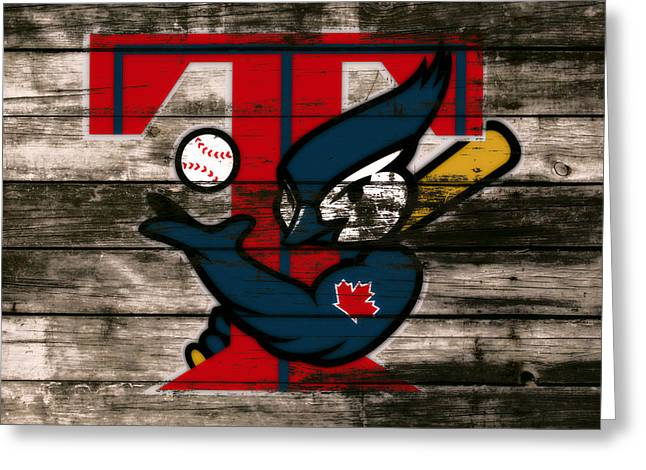 The Toronto Blue Jays 1c Greeting Card by Brian Reaves