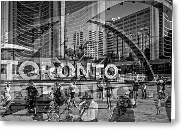 The Tourists - Toronto Greeting Card