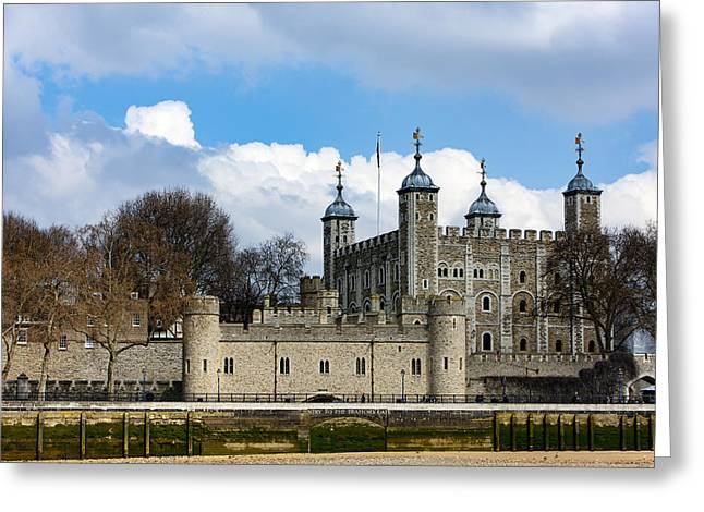 The Tower Of London Greeting Card
