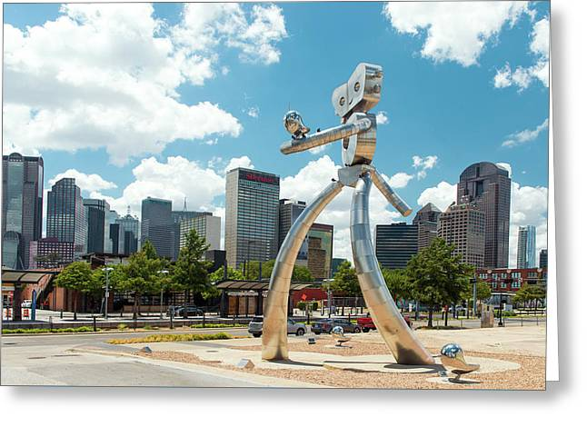 The Traveling Man Dallas 080618 Greeting Card