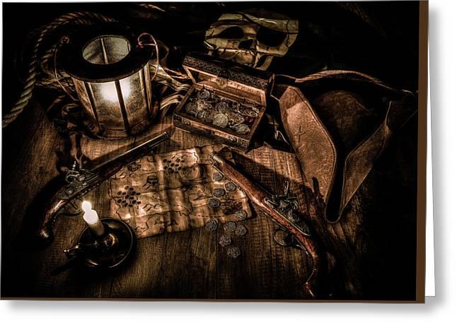 The Treasure Hunt Greeting Card