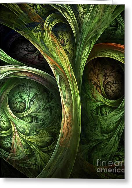 The Tree Of Life Greeting Card