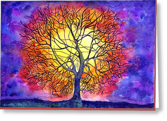 The Tree Of New Life Greeting Card