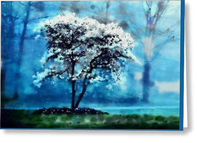 The Tree Of Snows Greeting Card