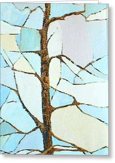 The Tree Sky Song Greeting Card by Judith Espinoza