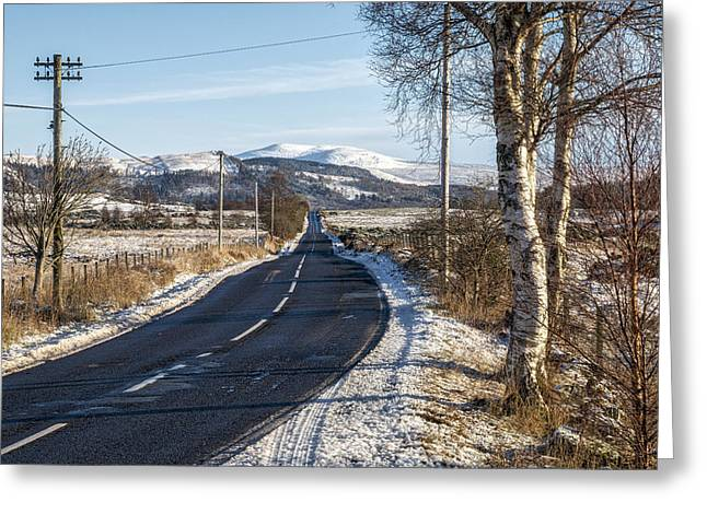The Trossachs National Park In Scotland Greeting Card