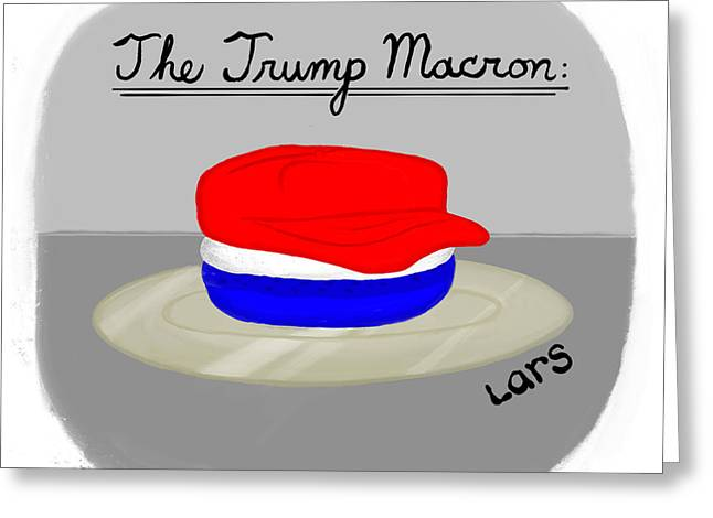 The Trump Macron Greeting Card