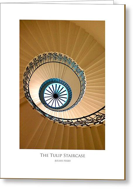The Tulip Staircase Greeting Card
