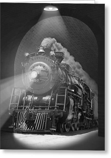 The Tunnel  Greeting Card by Mike McGlothlen