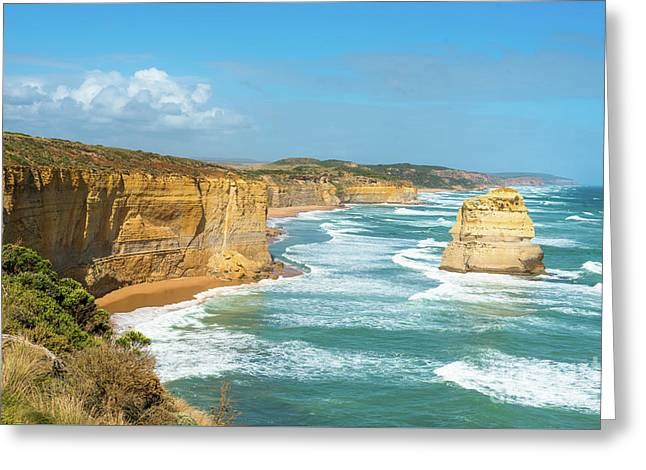 The Twelve Apostles Greeting Card by Andrew Michael
