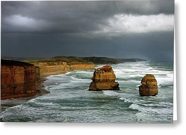 The Twelve Apostles Greeting Card by Marion Cullen