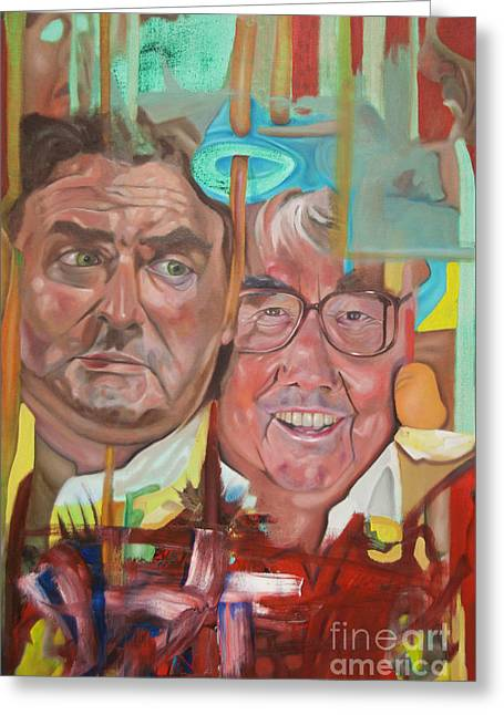 The Two Ronnies Greeting Card