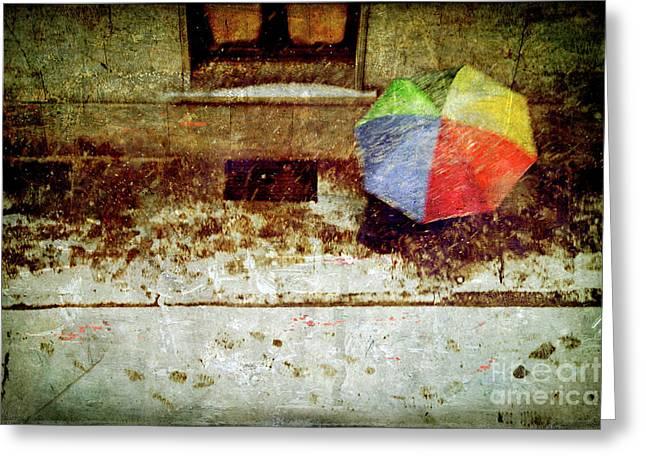 The Umbrella Greeting Card