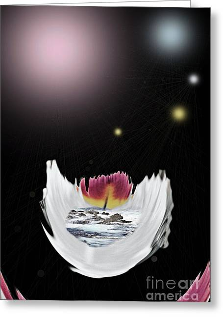 The Universe Greeting Card by Sharon Broucek