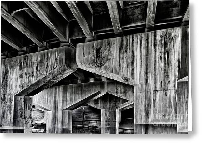 Greeting Card featuring the photograph The Urban Jungle by Brad Allen Fine Art