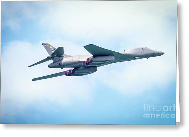 The Usaf Rockwell B-1 Lancer  Greeting Card