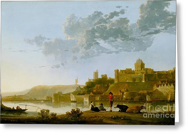 The Valkhof At Nijmegen Greeting Card by Celestial Images