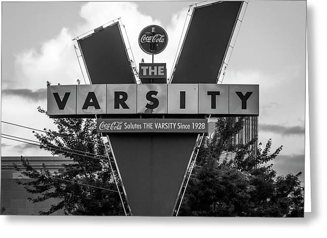The Varsity Atlanta Landmark Signage Art Greeting Card