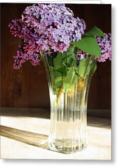 The Vase Greeting Card