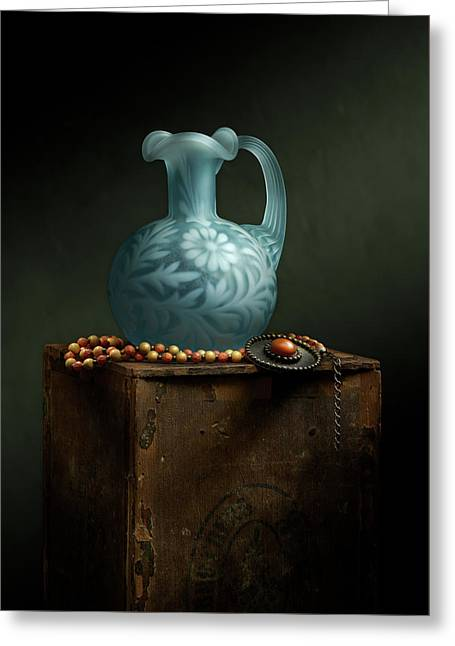 Greeting Card featuring the photograph The Vase by Cindy Lark Hartman