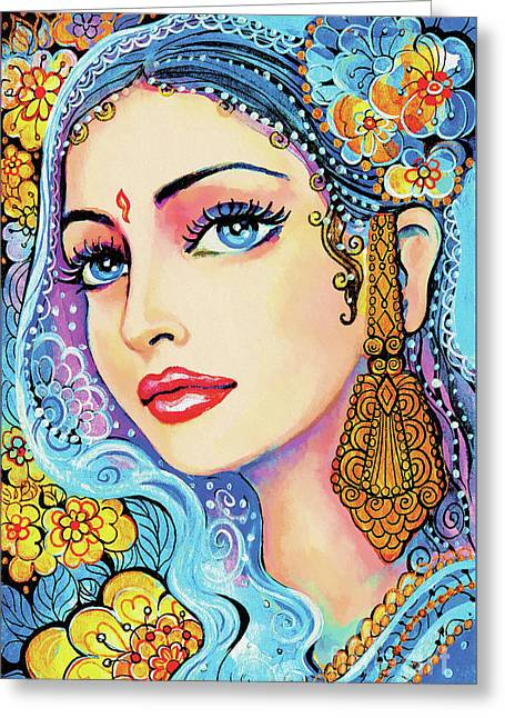 The Veil Of Aish Greeting Card by Eva Campbell