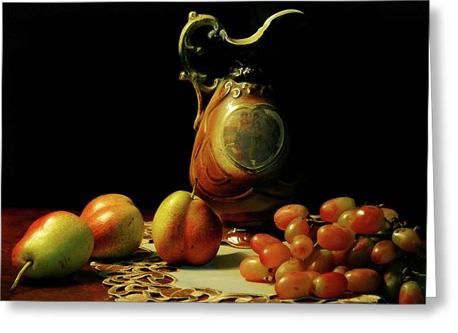 The Venetian Pitcher Greeting Card by Diana Angstadt