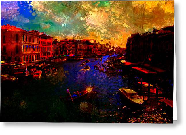 The Veneto Greeting Card by Brian Reaves