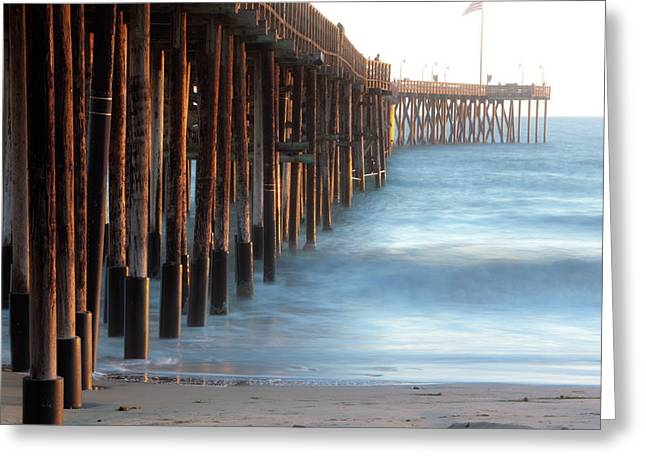 The Ventura Pier Greeting Card