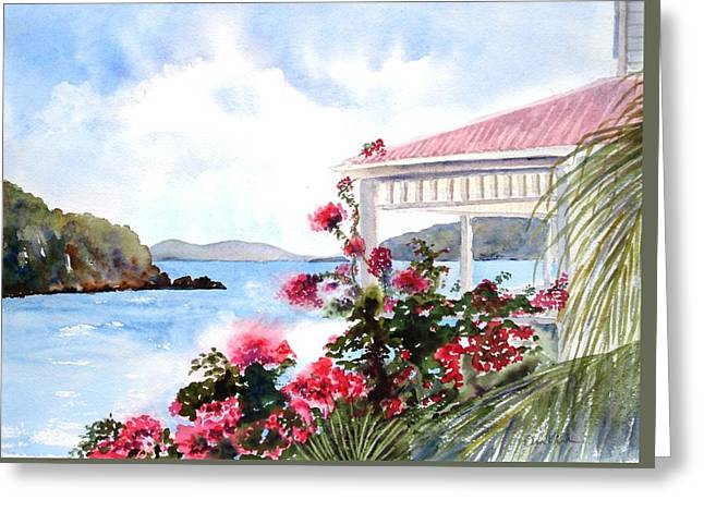 The Veranda Greeting Card