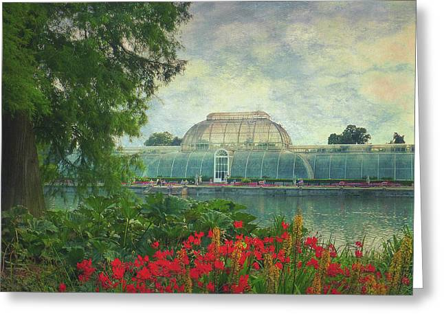 The Victorian Palm House  Greeting Card