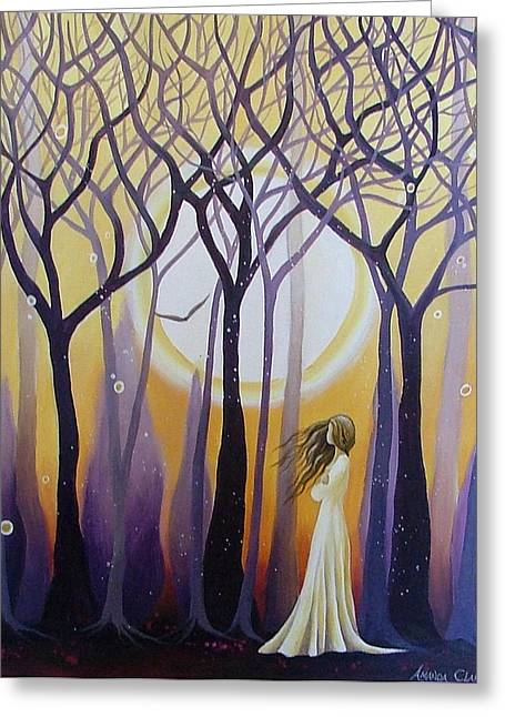 The View Greeting Card by Amanda Clark