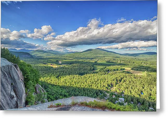 The View From Cathedral Ledge Greeting Card by Brian MacLean