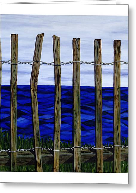 The View From Here Greeting Card by Diane Korf
