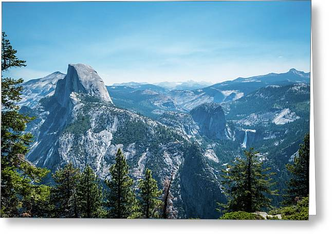 Greeting Card featuring the photograph The View- by JD Mims