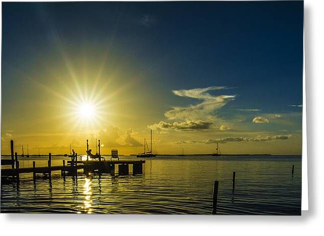 The View Greeting Card by Kevin Cable