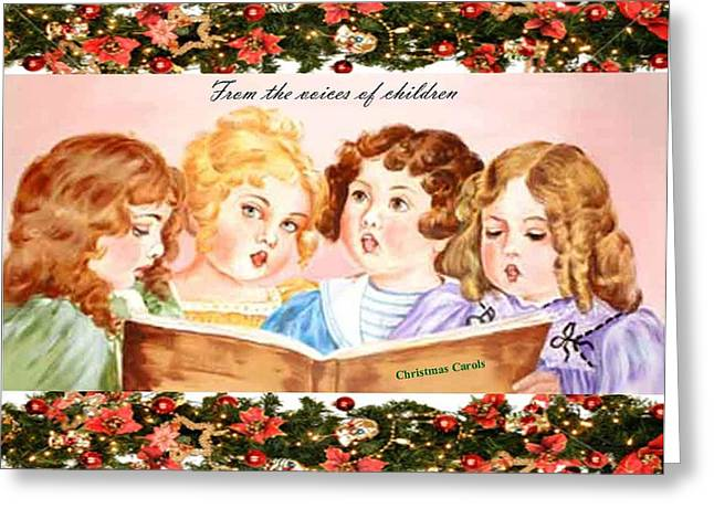 The Voices Of Children Greeting Card