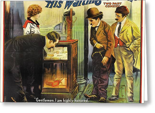 The Waiting Career 1916 Greeting Card