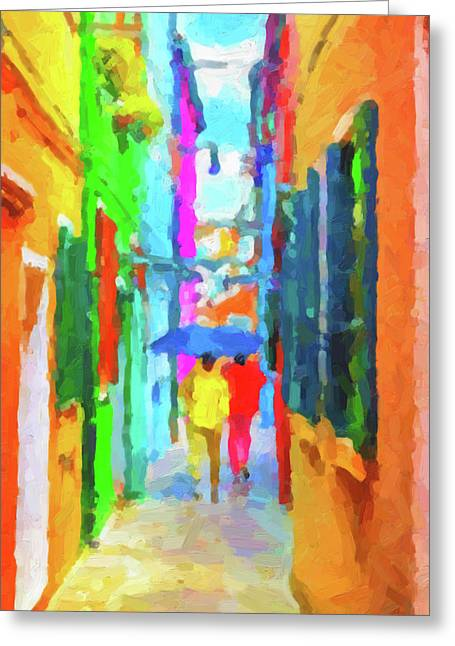The Walkabouts - Good Morning, Italy Greeting Card