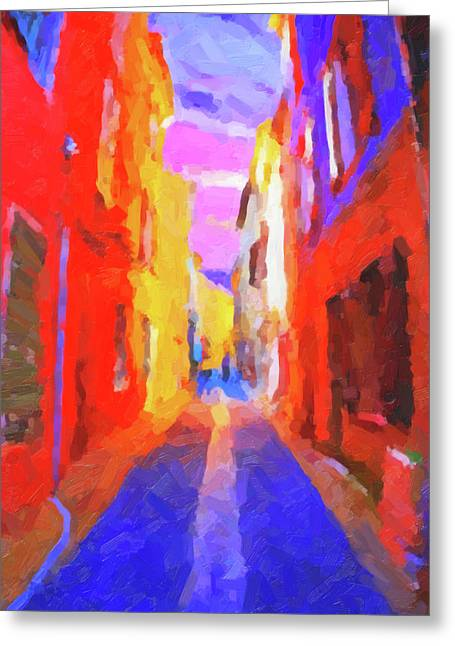 The Walkabouts - Twilight In Francethe Walkabouts - Twilight In France Greeting Card