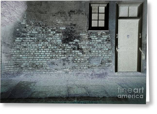 Greeting Card featuring the photograph The Wall by Douglas Stucky