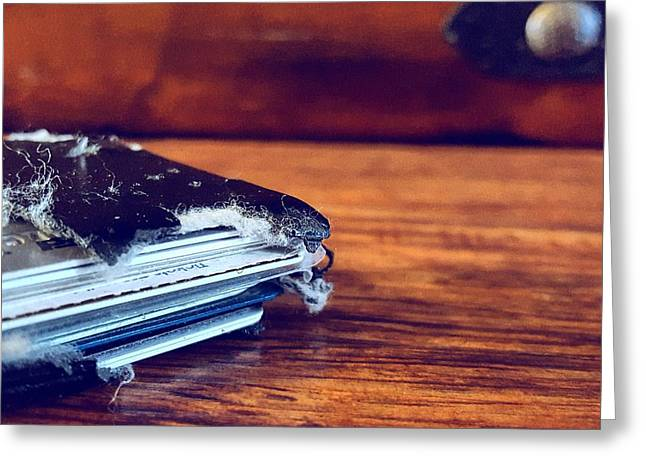 The Wallet II Greeting Card by Daniel Donche