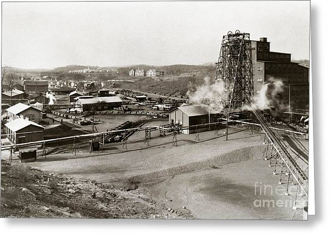 The Wanamie Colliery Lehigh And Wilkes Barre Coal Co Wanamie Pa Early 1900s Greeting Card