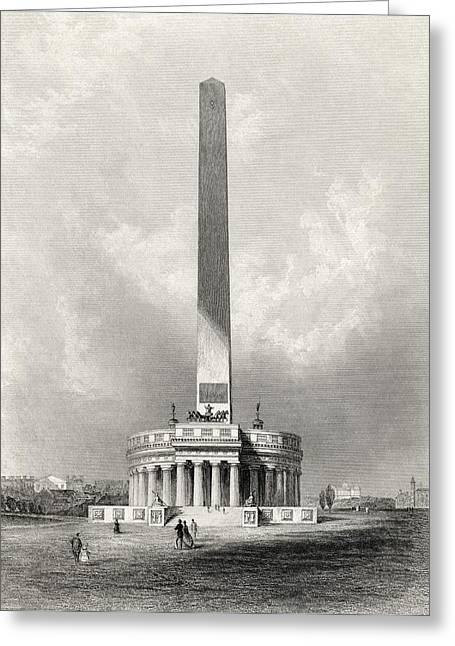 The Washington National Monument Greeting Card