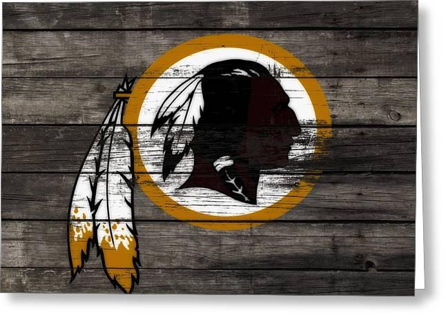 The Washington Redskins 3c Greeting Card